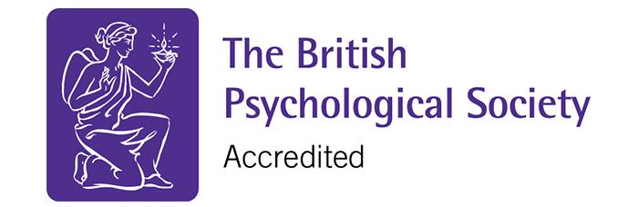 British Psychological Society accredited logo