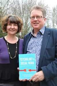 Dr Gabriela Misca and Dr Peter Unwin with their book