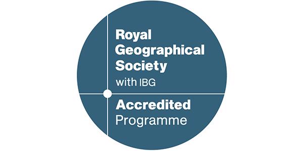 Royal Geography Society with IBG - Accredited programme