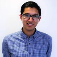 Journalism degree graduate Adam Chowdhury