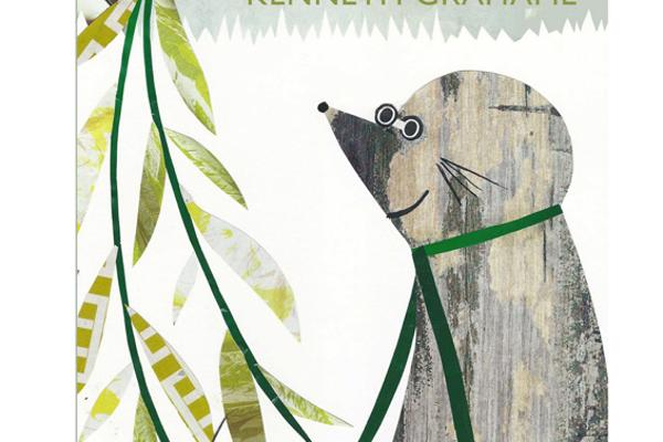 Wind in the Willows book cover created by Illustration degree student