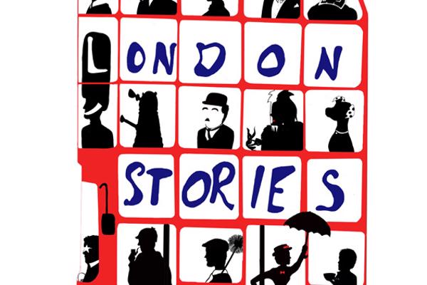 Illustration of red bus with London Stories written on the side, created by Illustration degree student