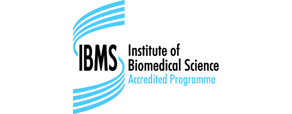 Institute of Biomedical Science accredited programme logo