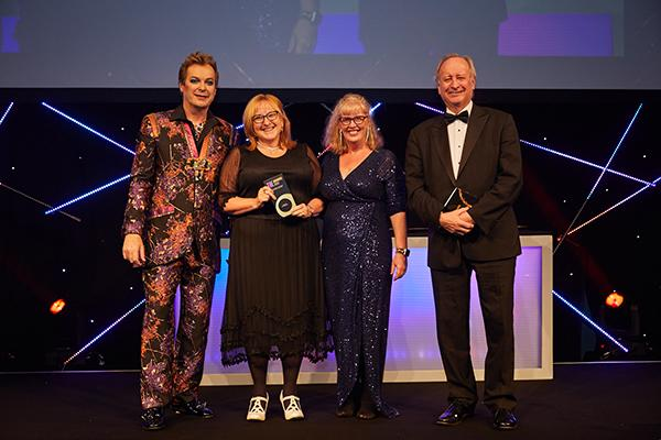THE Award Outstanding Contribution to the Local Community