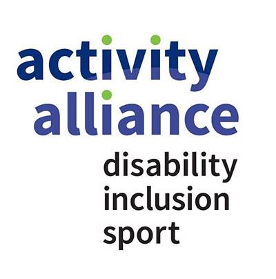 Activity Alliance, disability, inclusion, sport logo