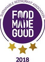 Sustainable Restaurant Association badge