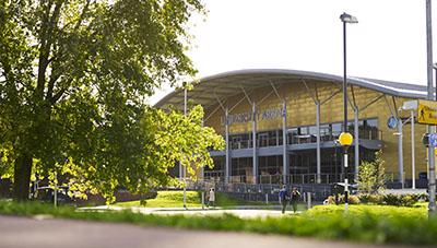 University of Worcester Arena exterior
