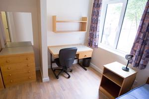 A shot of the Standard Halls accommodation
