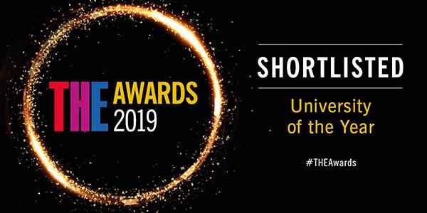 THE Awards 2019 - Shortlisted - University of the Year