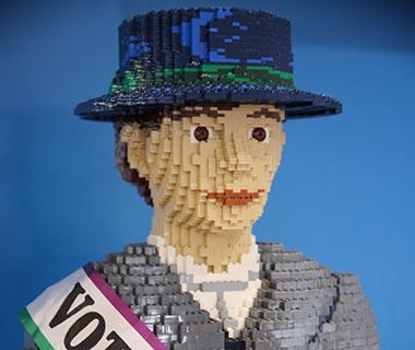 the lego Suffragette