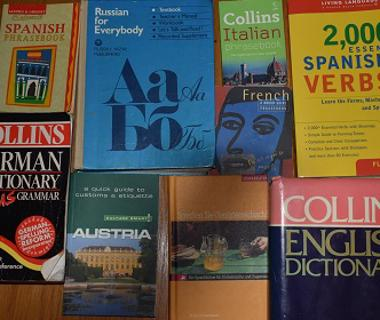 front covers of books with names of different countries noted